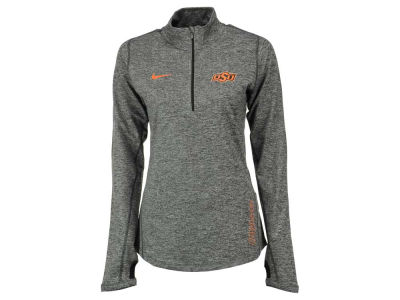 Oklahoma State Cowboys Nike NCAA Women's Stadium Element 1/4 Zip Pullover Shirt