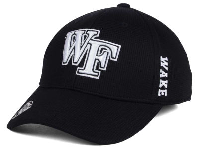 Wake Forest Demon Deacons Top of the World NCAA Black White Booster Cap