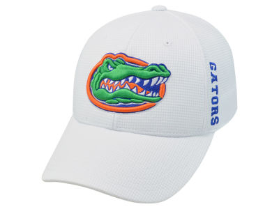 Florida Gators Top of the World NCAA White Booster Cap