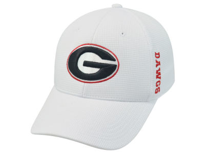 Georgia Bulldogs Top of the World NCAA White Booster Cap