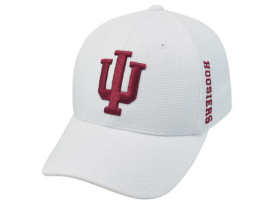 Indiana Hoosiers Top of the World NCAA White Booster Cap