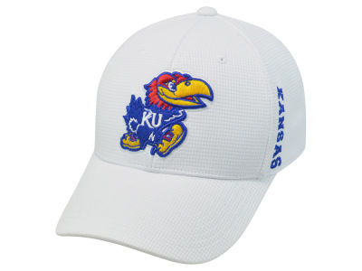 Kansas Jayhawks Top of the World NCAA White Booster Cap