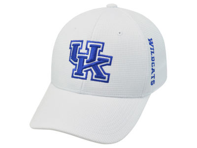 Kentucky Wildcats Top of the World NCAA White Booster Cap