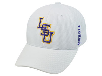LSU Tigers Top of the World NCAA White Booster Cap
