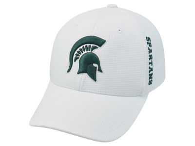 Michigan State Spartans Top of the World NCAA White Booster Cap