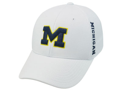Michigan Wolverines Top of the World NCAA White Booster Cap