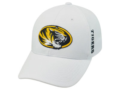 Missouri Tigers Top of the World NCAA White Booster Cap