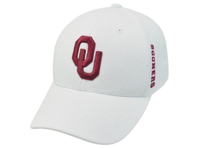 Oklahoma Sooners Top of the World NCAA White Booster Cap
