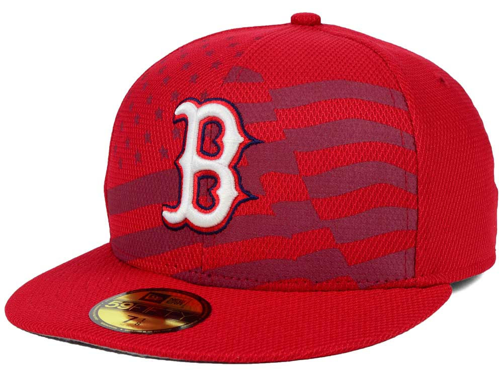 Boston Red Sox New Era MLB 2015 July 4th Stars   Stripes 59FIFTY Cap ... 9d2802c5a7d
