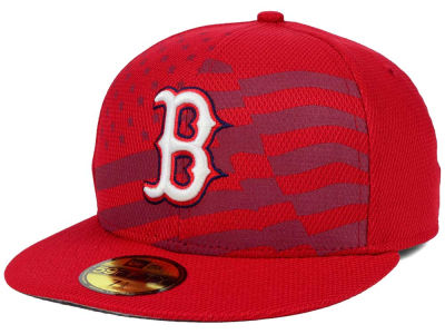 Boston Red Sox New Era MLB 2015 July 4th Stars & Stripes 59FIFTY Cap