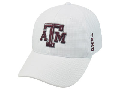Texas A&M Aggies Top of the World NCAA White Booster Cap