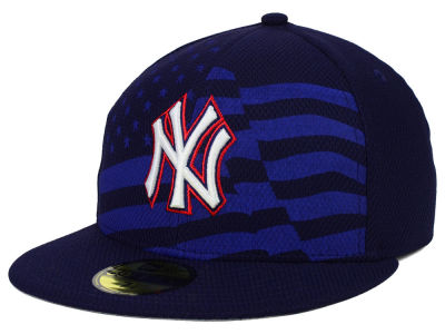 New York Yankees New Era MLB 2015 July 4th Stars & Stripes 59FIFTY Cap