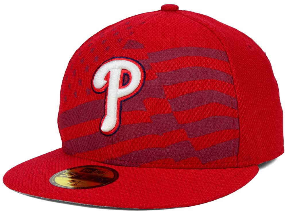 1b7f09b064f Philadelphia Phillies New Era MLB 2015 July 4th Stars   Stripes 59FIFTY Cap