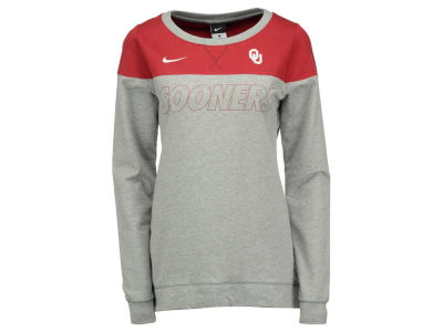 Oklahoma Sooners Nike NCAA Women's Touchdown Long Sleeve Crew