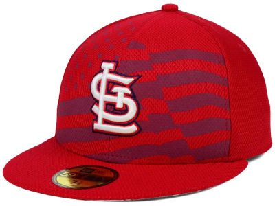 St. Louis Cardinals New Era MLB 2015 July 4th Stars & Stripes 59FIFTY Cap