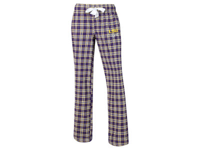 LSU Tigers NCAA Women's Ovation Flannel Pants