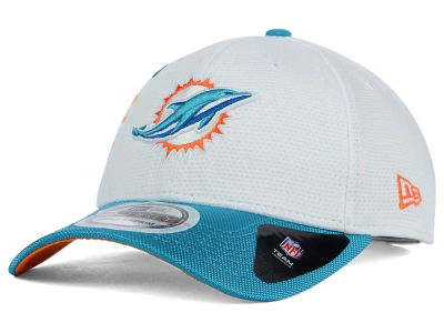 Miami Dolphins New Era NFL Zoom Slice 39THIRTY Cap