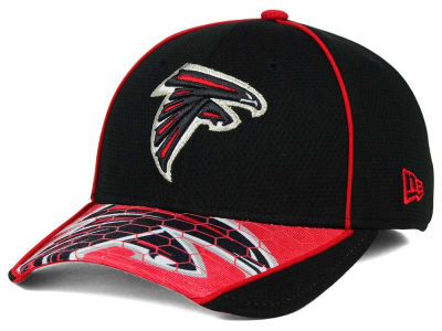 Atlanta Falcons New Era NFL Hex Charge 39THIRTY Cap