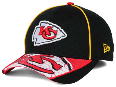 Kansas City Chiefs New Era NFL Hex Charge 39THIRTY Cap