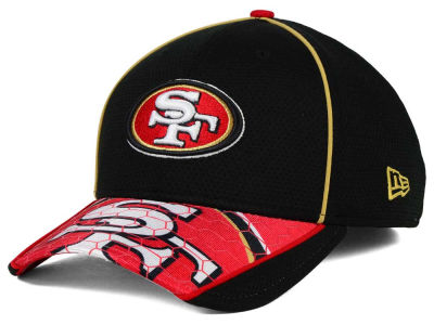 San Francisco 49ers New Era NFL Hex Charge 39THIRTY Cap