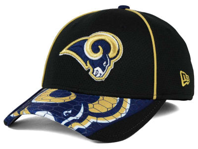 St. Louis Rams New Era NFL Hex Charge 39THIRTY Cap