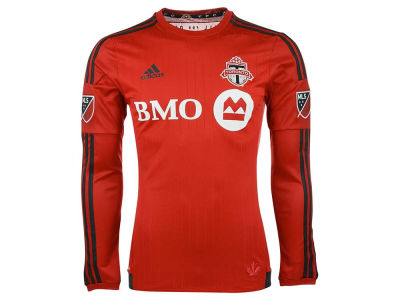 Toronto FC adidas MLS Men's Long Sleeve Primary Authentic Jersey