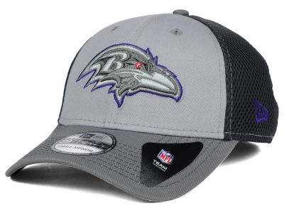 Baltimore Ravens New Era NFL Greyed Out Neo Flex 39THIRTY Cap
