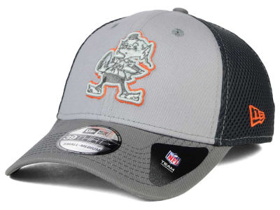 Cleveland Browns New Era NFL Greyed Out Neo Flex 39THIRTY Cap