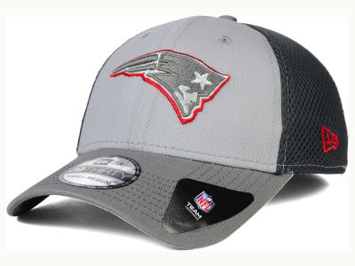 New England Patriots New Era NFL Greyed Out Neo Flex 39THIRTY Cap