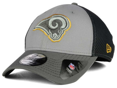 St. Louis Rams New Era NFL Greyed Out Neo Flex 39THIRTY Cap