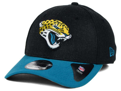 Jacksonville Jaguars New Era NFL Change Up Heather 39THIRTY Cap