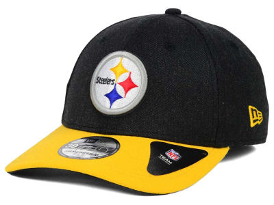 Pittsburgh Steelers New Era NFL Change Up Heather 39THIRTY Cap