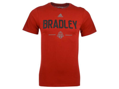 Toronto FC Michael Bradley adidas MLS Men's Authentic Player Name and Number T-Shirt