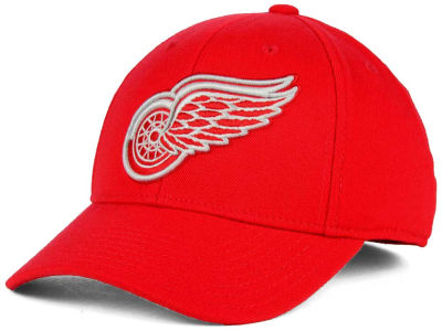 Detroit Red Wings Reebok NHL Basic Stretch Cap