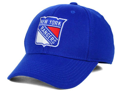 New York Rangers Reebok NHL Basic Stretch Cap