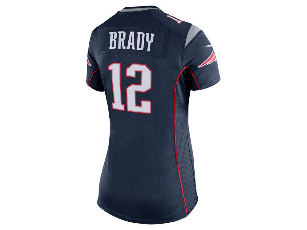 New England Patriots Tom Brady Nike NFL Women s Game Jersey  7af3258663