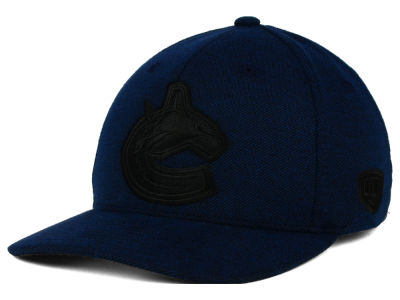 Vancouver Canucks Old Time Hockey NHL Darkened Flex Hat