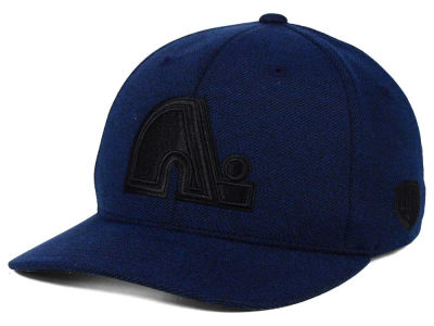 Quebec Nordiques Old Time Hockey NHL Darkened Flex Hat