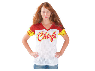 Kansas City Chiefs NFL Women's Pass Rush Mesh Jersey