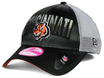 Cincinnati Bengals New Era NFL Truck Shine 9FORTY Cap