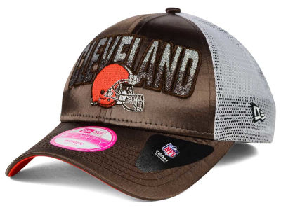 Cleveland Browns New Era NFL Truck Shine 9FORTY Cap