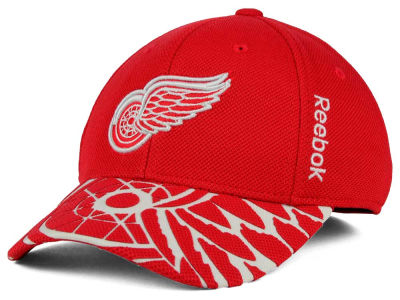 Detroit Red Wings Reebok NHL 2015 Youth Draft Cap