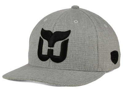 Hartford Whalers Old Time Hockey NHL Smoked Flex Hat