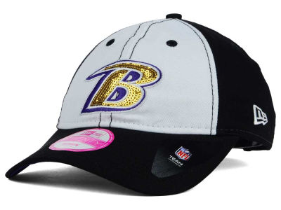 Baltimore Ravens New Era NFL Women's Team Glimmer 9TWENTY Cap