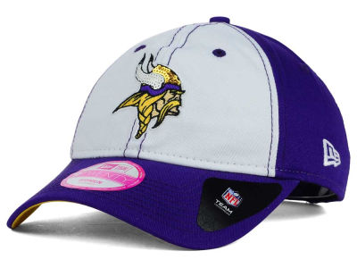 Minnesota Vikings New Era NFL Women's Team Glimmer 9TWENTY Cap