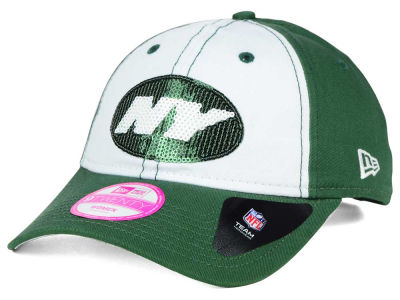New York Jets New Era NFL Women's Team Glimmer 9TWENTY Cap