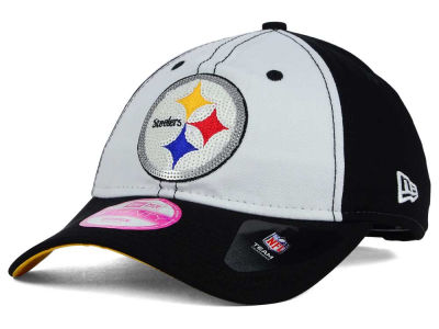 Pittsburgh Steelers New Era NFL Women's Team Glimmer 9TWENTY Cap