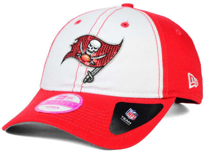 Tampa Bay Buccaneers New Era NFL Women's Team Glimmer 9TWENTY Cap