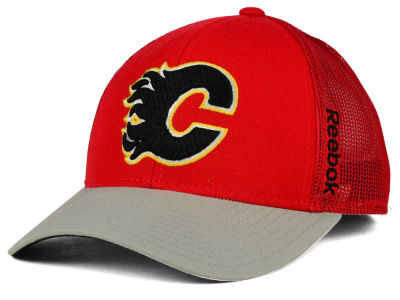 Calgary Flames Reebok NHL 2015 TNT Adjustable Cap