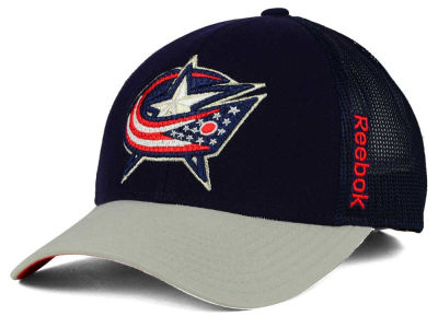 Columbus Blue Jackets Reebok NHL 2015 TNT Adjustable Cap